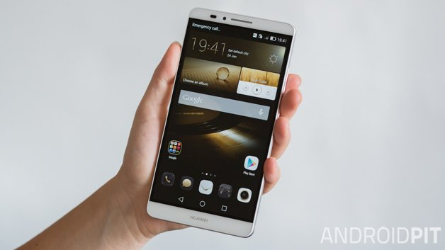 Huawei Ascend Mate 7: Hypermobil in Chinese