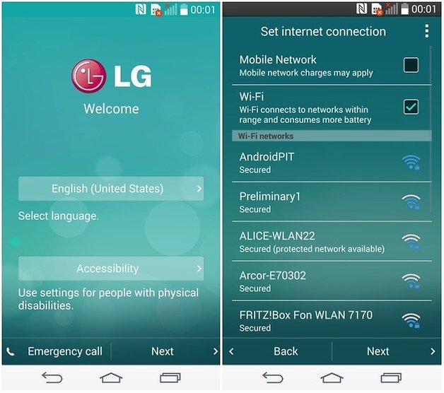 androidpit lg g3 setup 1