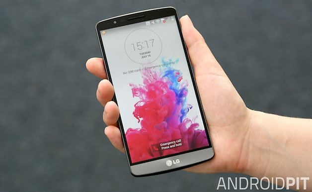 how to fix lg g3 screen problem
