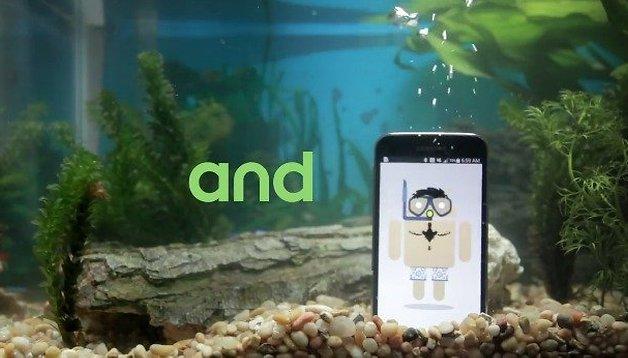 ¡El Nexus 6 también es resistente al agua!