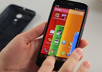 Hands-on video of the Moto G: a head turner that's cheap!