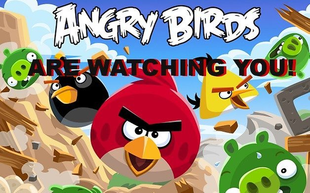 androidpit angry birds nsa