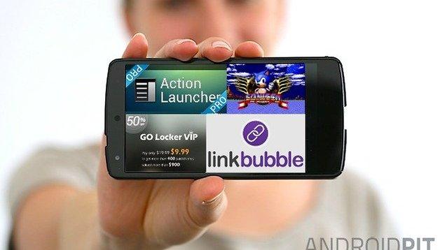 App sales: Action Launcher Pro, 5 Sonic apps for $0.99, Link Bubble, Go Locker VIP & more