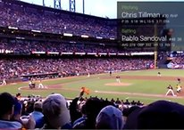 The new Blue app takes Google Glass to the ball game