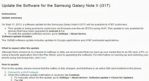 Androidpit galaxy note 2 att update