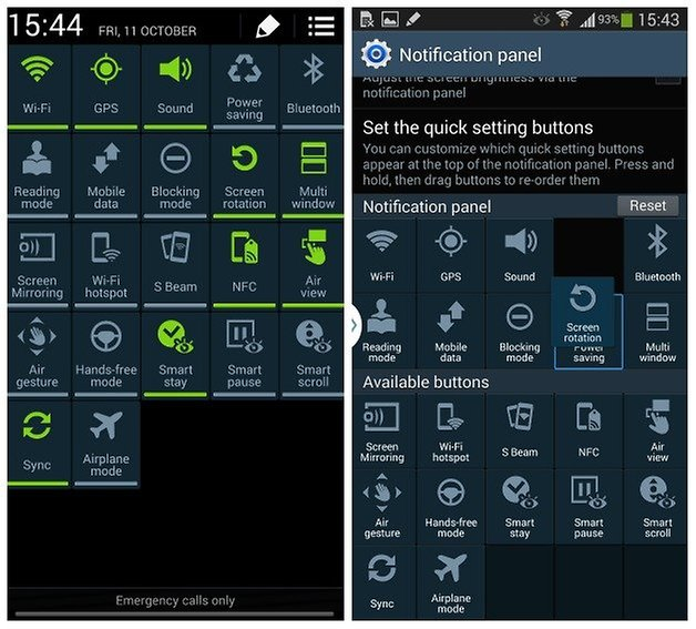 androidpit adapt quick settings