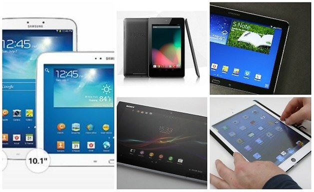 androidpit best tablets 2013
