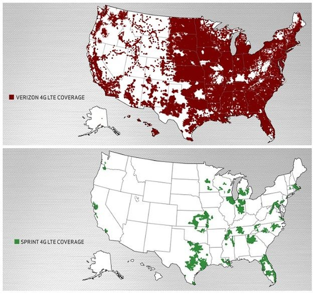 androidpit verizon sprint lte coverage