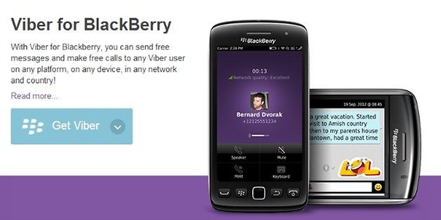 androidpit viber blackberry