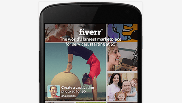 Fiverr arrives on Android to connect worldwide freelancers and clients
