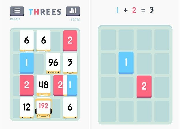 androidpit threes game