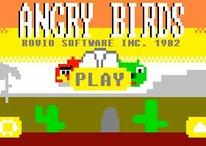 [Divertido] Angry Birds en los 80