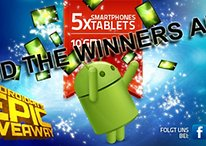 The 10 Lucky Winners of AndroidPIT's Epic Giveaway!