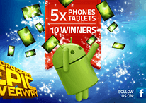 AndroidPIT's Epic Giveaway: 5 Phones & 5 Tablets Up For Grabs!