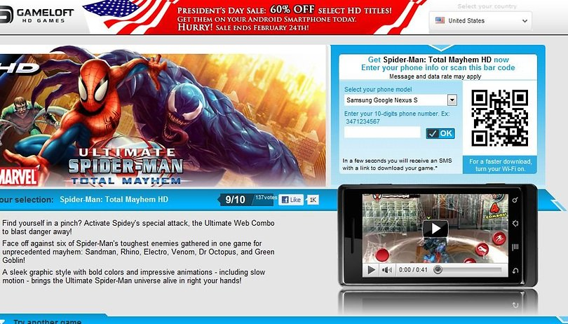 From Feb. 18th to Feb. 21st Gameloft's Exclusive Best of 2010 Offer - Buy One, Get One Free!