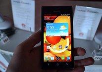 Huawei présente son nouveau smartphone haut de gamme: le Ascend P1