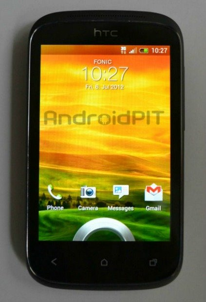 display htc desire c
