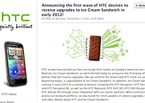 Who's Getting What: HTC Confirms Ice Cream Sandwich Update for Sensation and EVO3D