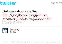 Lawsuit Over Java Keeps Google From Attending JavaOne