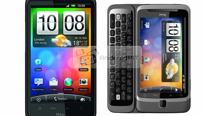 HTC Reveals HTC Desire HD And Desire Z