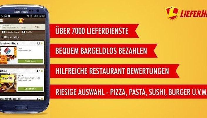 Lieferheld - Pizza Pasta Sushi!