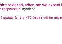 T-Mobile UK gibt Zeitraum für HTC Desire OTA 2.2 Firmware bekannt