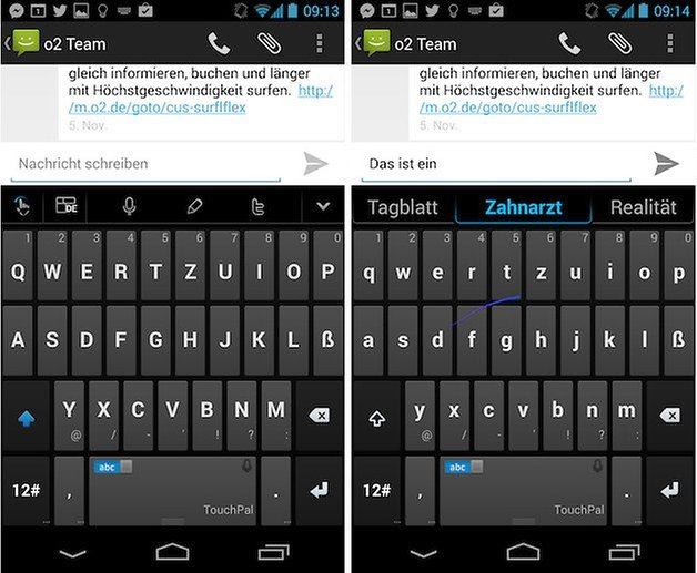 TouchPal Screenshot 2