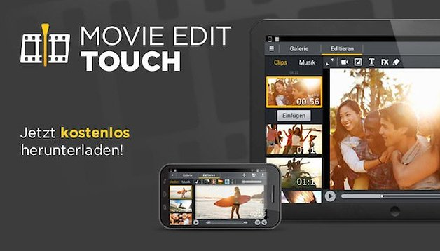 Movie Edit Touch: Filme auf höchstem Niveau