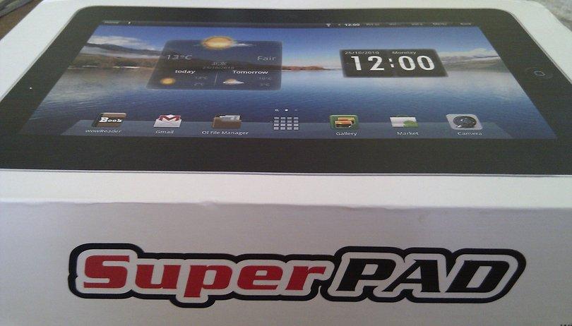 [Hands-On] 10,2 Zoll SuperPad aus China getestet