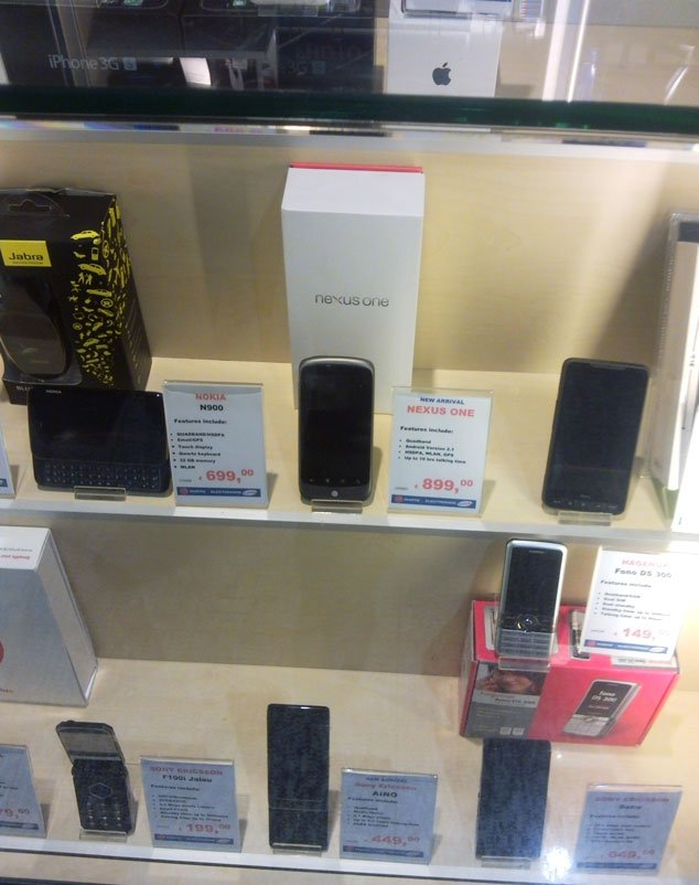 Nexus One in Germany