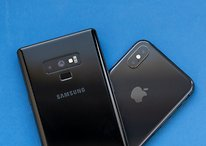 Comparación de cámaras: iPhone XS (Max) vs. Galaxy Note9
