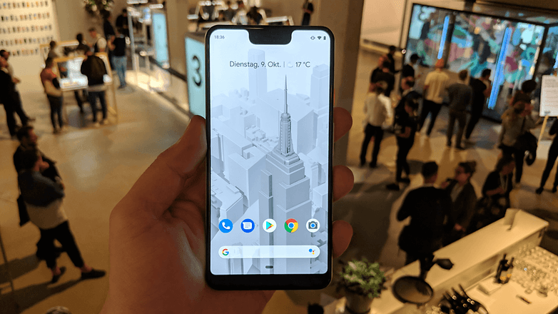 AndroidPIT Google Pixel 3 XL Hands on 8