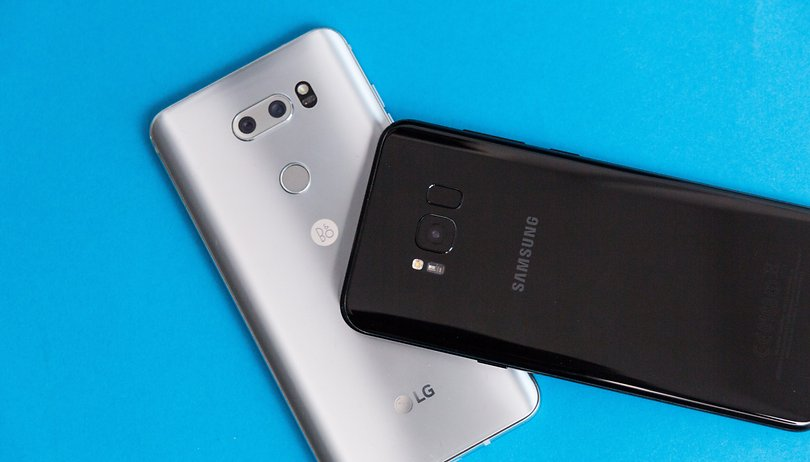 LG V30 vs Samsung Galaxy S8+: una scelta impossibile