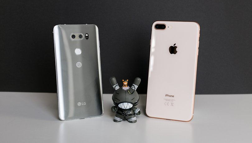 iPhone 8 Plus vs LG V30 : question de budget