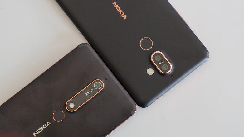 AndroidPIT Nokia 7 Plus Nokia 6.1 12