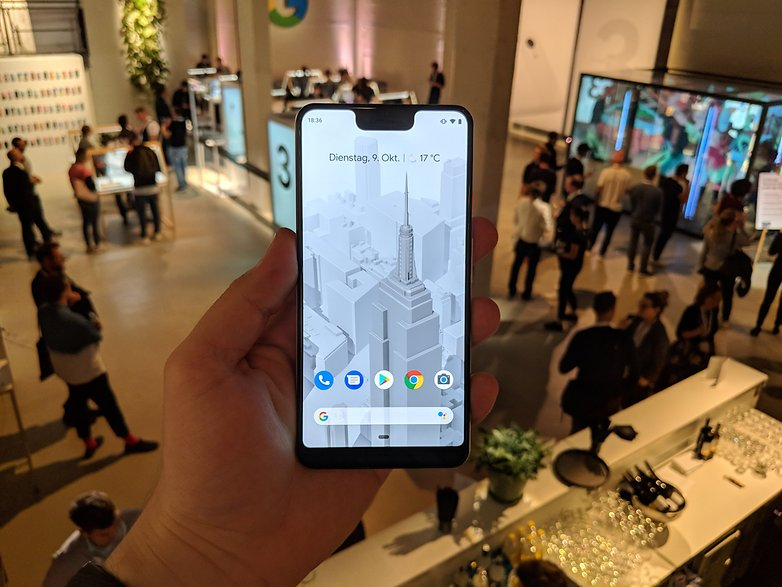 AndroidPIT Pixel 3 XL Hands on 1