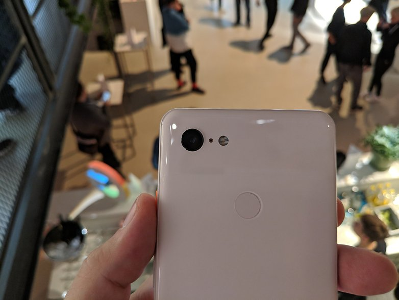 AndroidPIT Pixel 3 XL Hands on 2