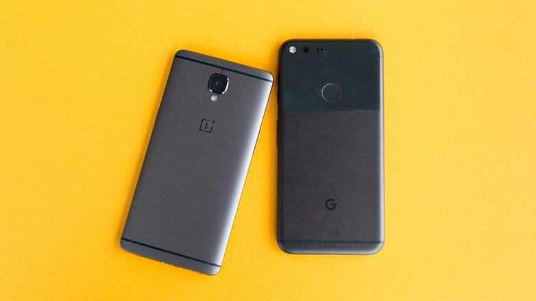 AndroidPIT Pixel XL vs OnePlus 3T 1651