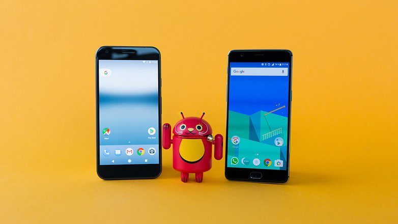 AndroidPIT Pixel XL vs OnePlus 3T 1678