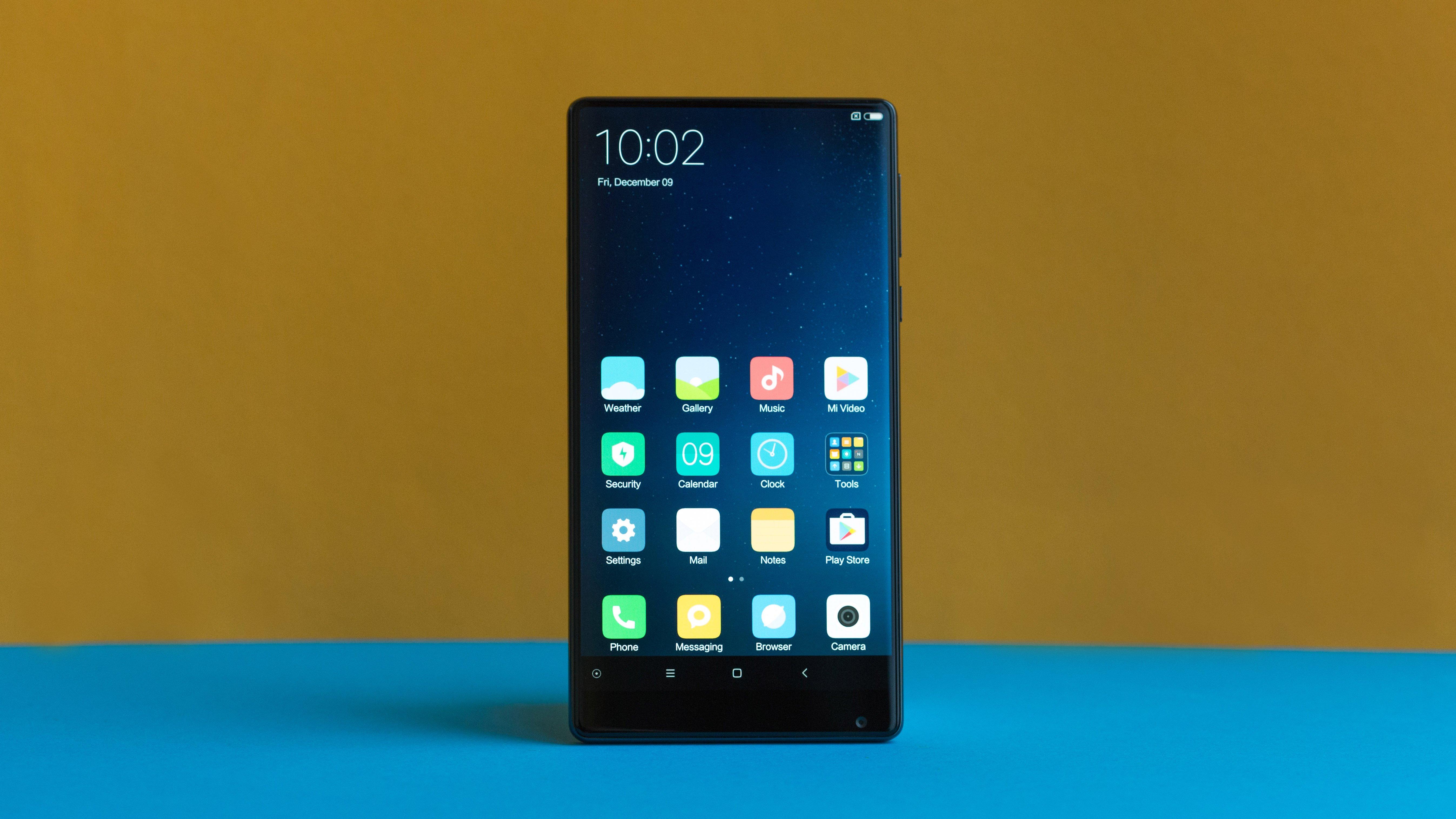 Test Du Xiaomi Mi MIX Un Smartphone Avec Petit Je Ne Sais Quoi