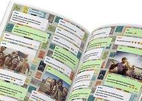 WhatsApp-Chats als Buch verschenken