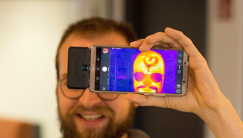 Ausprobiert: Spaß mit dem Wärmebild-Update fürs Smartphone