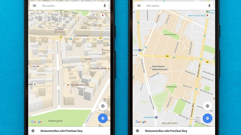 AndroidPIT google maps areas of interest 3