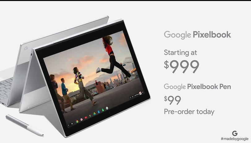 Google Pixelbook: the $999 premium convertible