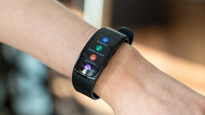 AndroidPIT Samsung Gear Fit 2 Pro 4