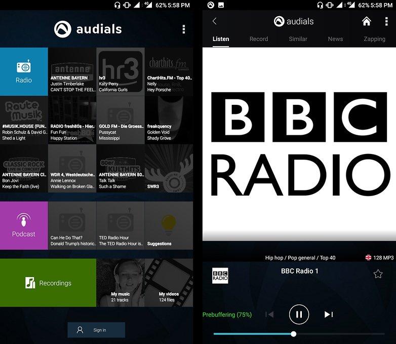 FM Radio Audials