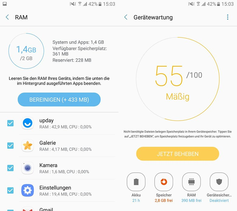 Galaxy A3 2017 Screenshot Setup 2