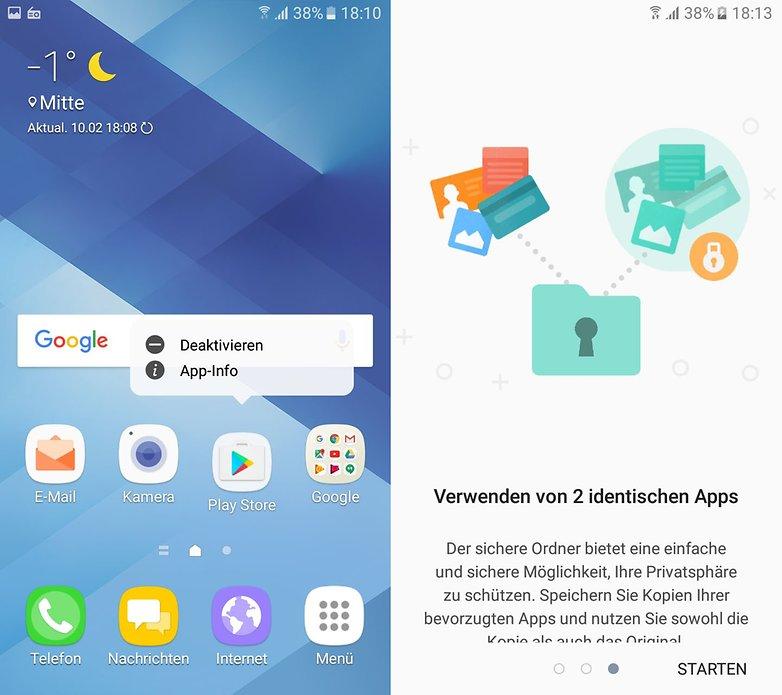 Galaxy A5 2017 Screenshot Setup 2
