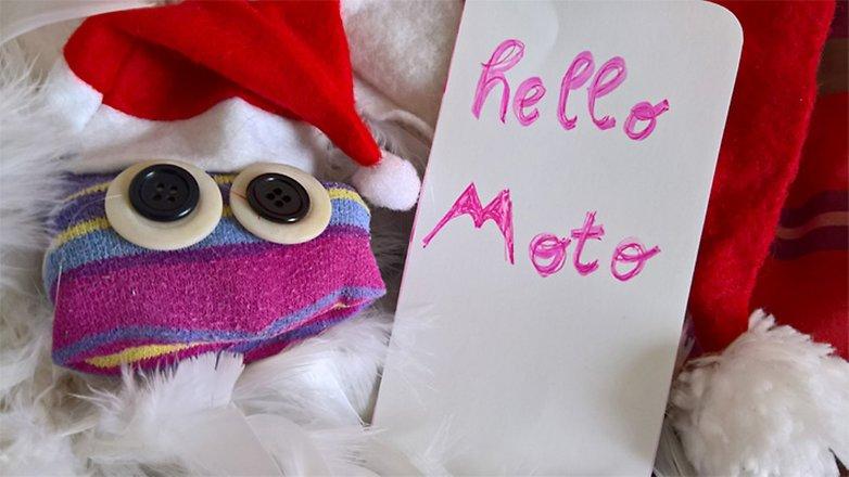 Hello Moto Challenge Christine