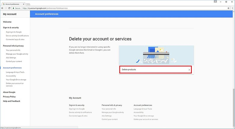 Step 2 Google Accounts